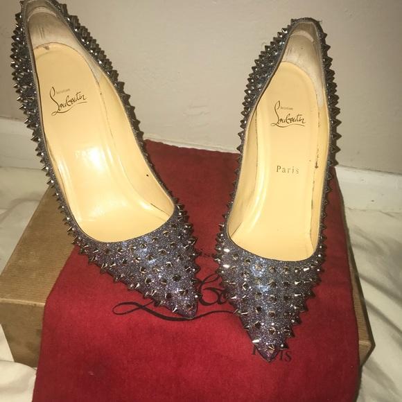 cfb827a08d2e Christian Louboutin Shoes - Christian Louboutin Spiked Heels